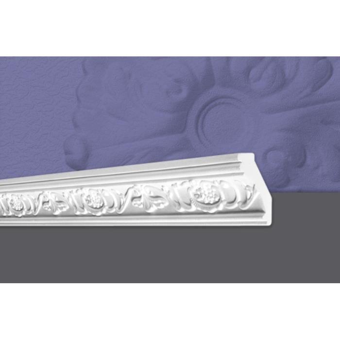 Decosa Moulure G6 (Gianna), 35 x 75 mm, polystyrène, longueur 2 m - LOT de 5 pièces