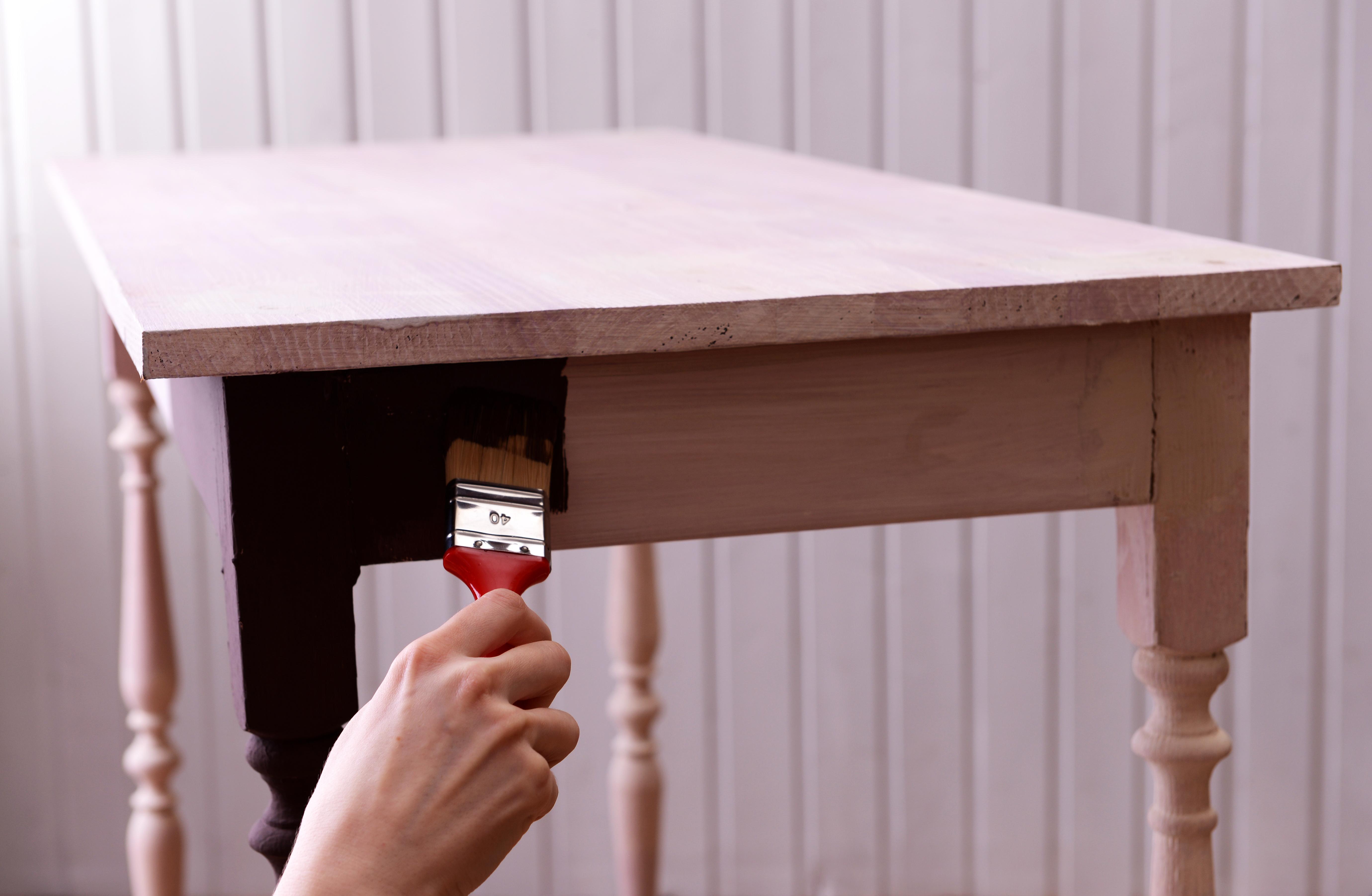 peinture table