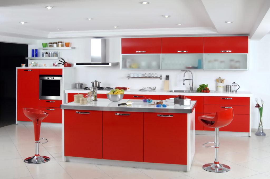 cuisine-rouge-moderne