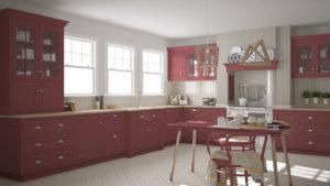 cuisine-scandinave-rouge