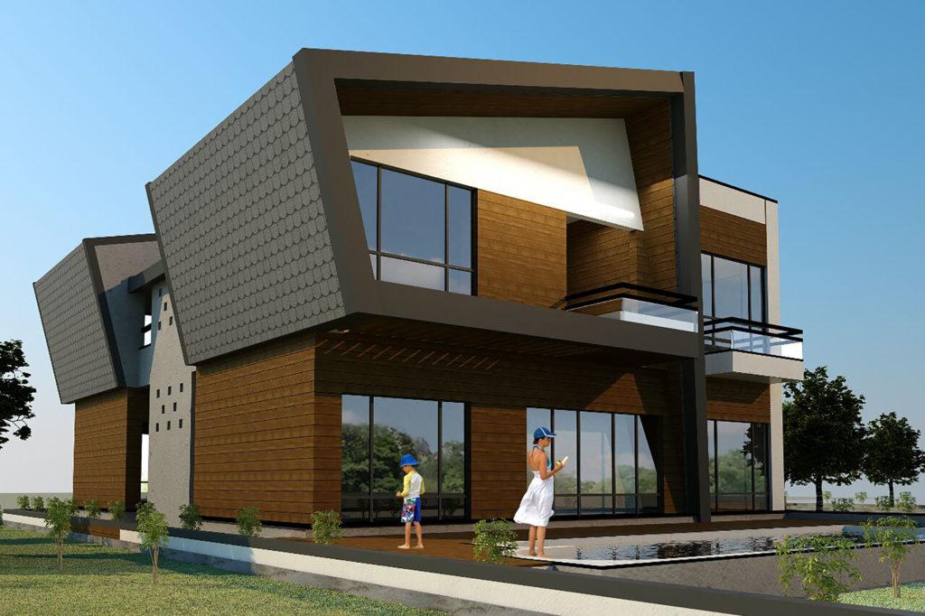 maison-moderne-toit-monopente