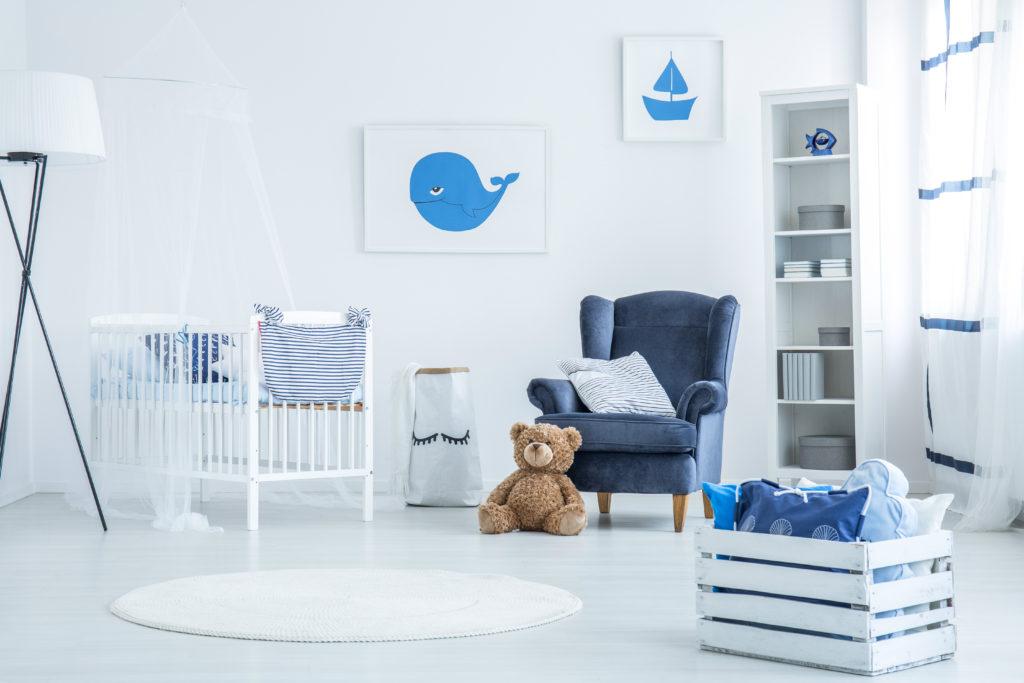 chambre-bleue-minimaliste