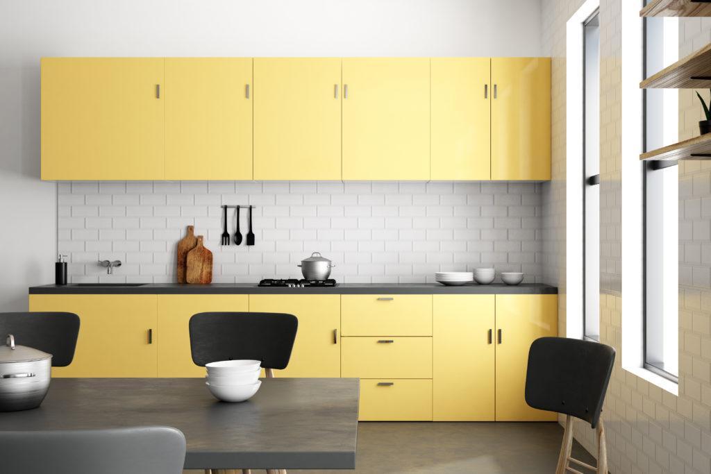 cuisine-jaune-pâle