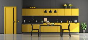cuisine-jaune-noire