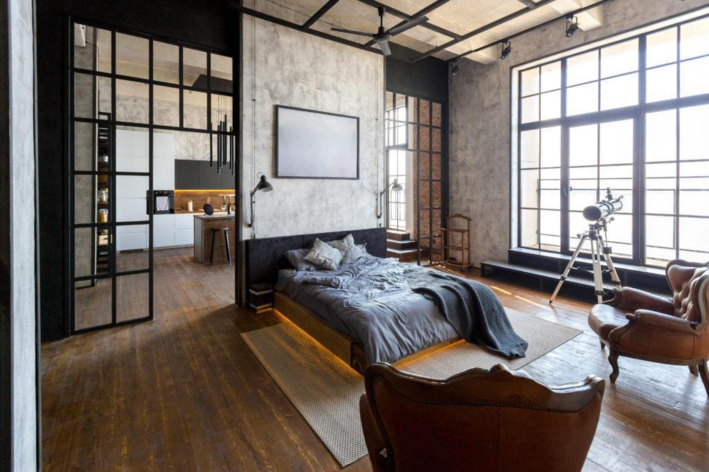 loft-industriel-espace-nuit