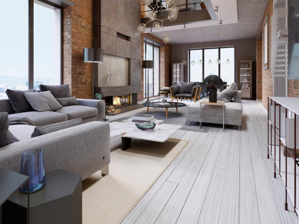 loft-industriel-séjour