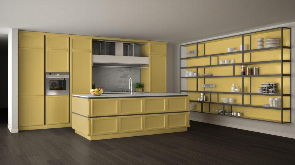 cuisine-jaune-pastel
