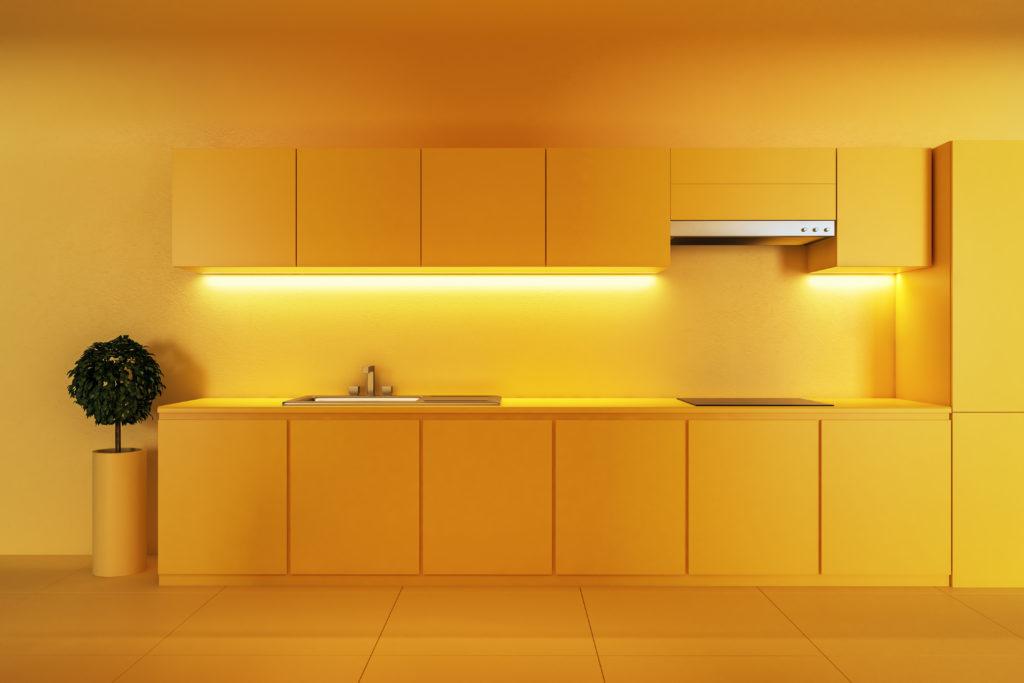 cuisine-intégralement-jaune