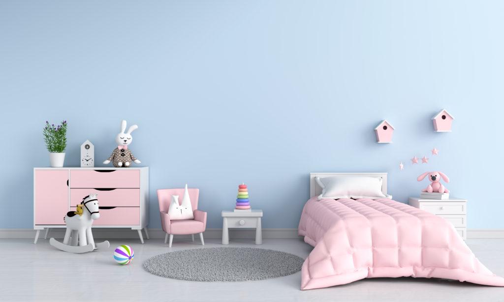 chambre-enfant-rose-bleue