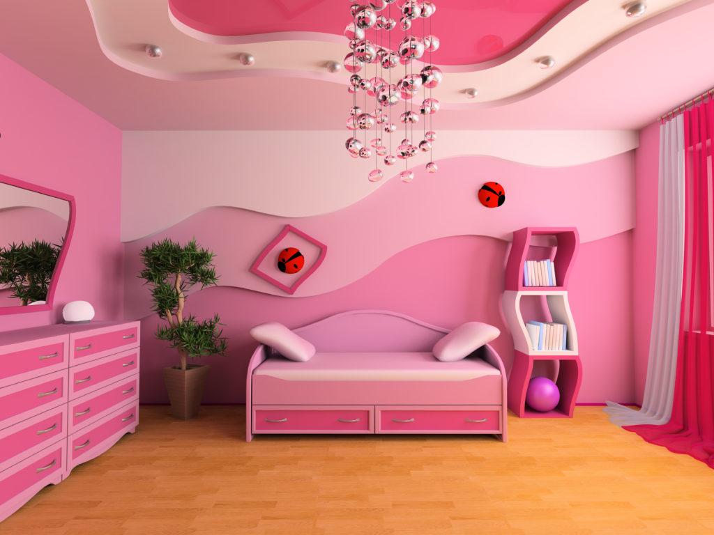 chambre-enfant-très-rose