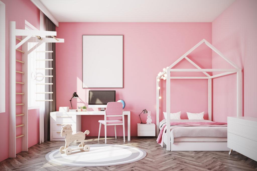 chambre-enfant-rose-claire