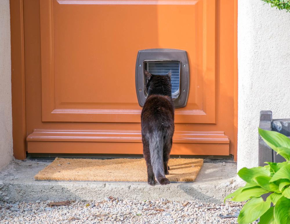 chatière-faite-maison-porte