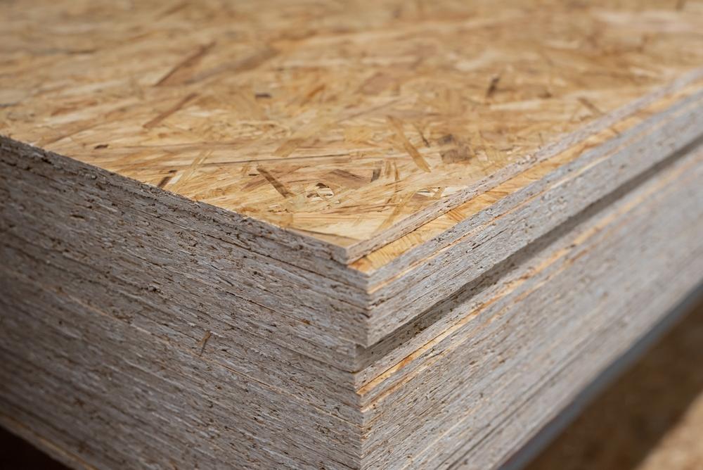 Planche de bois pour cloison