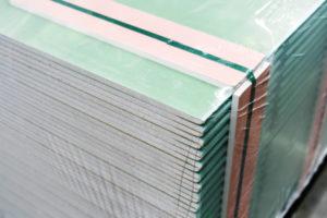 Différentes épaisseurs planches de placo