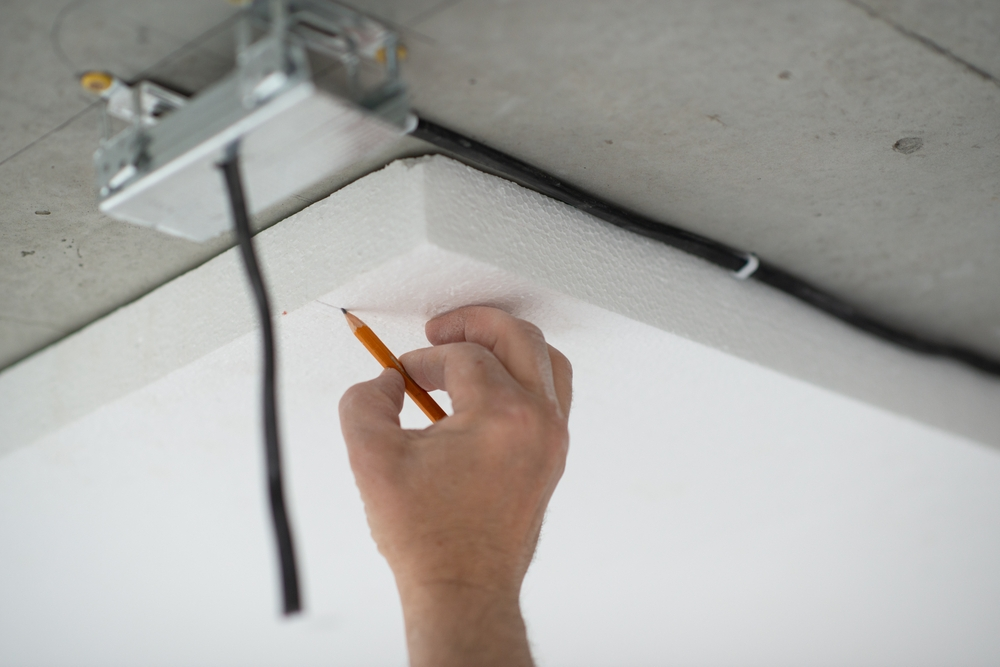 Mesure isolation en polystyrène