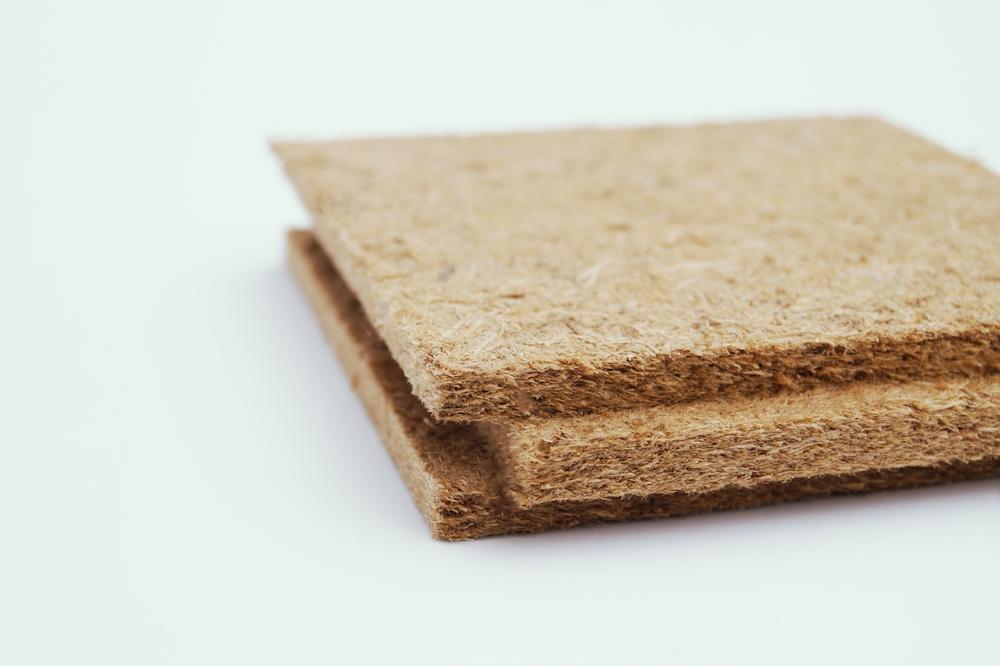 Morceau fibre de bois